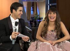 Glee: Watch Darren Criss Hilariously Quiz Lea Michele and Chris Colfer's Broadway Knowledge!