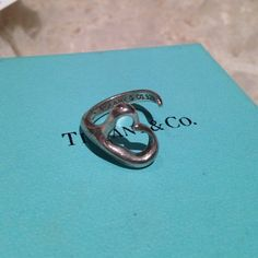 Authentic Tiffany and CO. Open heart ring Elsa peretti sterling silver open heart ring size 6. Worn a few times. This is a beautiful classic  ring that never goes out of style! ❌❌❌NO TRADES❌❌❌PRICE IS FIRM❌❌ Tiffany & Co. Jewelry Rings