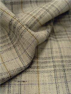 Stragier - Tweed Carreaux - carreaux - Gris perle