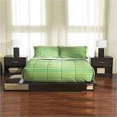Brand New South Shore Furniture Back Bay 6 Piece Bedroom Set in Dark Chocolate