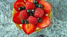 Søte terter med bær. Hvilke bær du bruker er opp til deg.