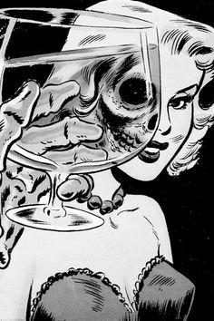 Glass of wine?
