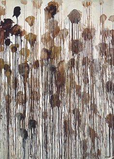 Cy Twombly Untitled No. 5, (Winter Pictures), 2004 - later than my favourites, but still wonderful!