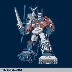 robotech, airwolf, transformers, dukes of hazard, a-team, ghostbusters all thats missing is Knight Rider!
