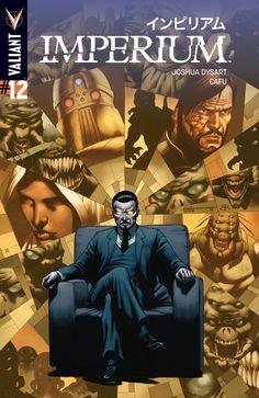 Imperium #12 Cover A by Cafu