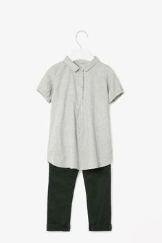 Melange tunic