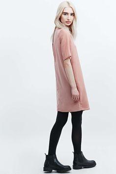 Light Before Dark Wrap Dress in Pink