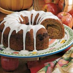 Apple pie coffee cake.  It really is easy AND yummy!  Tastes more like cake than coffee cake, but nonetheless, very tasty!