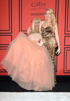 #BetseyJohnson and Lulu Johnson at 2013 CFDA fashion awards
