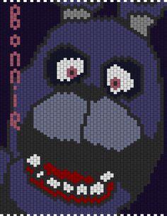 Bonnie 5 Nights At Freddys Bead Pattern
