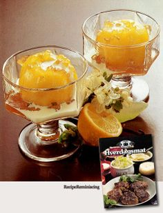 "Lemon Apples - A recipe from ""Hverdagsmat"" (Everyday Food) published by a family magazine book club in 1979"
