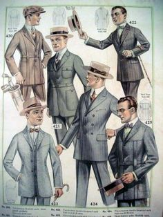 p179b98sqbqqj105a107bt8eptm0_808871-280x373.jpg 280×373 pixels Vintage Outfits, Vintage Fashion, Vintage Men, Fashion 1920s, Mens 20s Fashion, Roaring 20s Fashion, Fashion Suits, High Fashion Men, 1940's Fashion