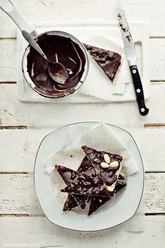 mazurki chocOlate with dulce de leche & walnuts