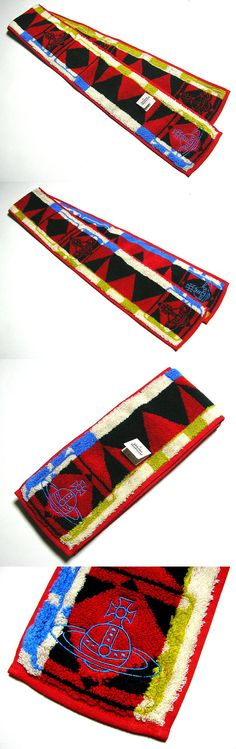 Gym Towels 179801: Vivienne Westwood Long Towel Sports Cotton Orb Multicolor Auth New Rare Licensed -> BUY IT NOW ONLY: $32.0 on eBay!