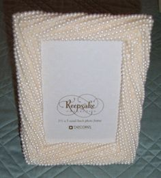 Vintate Pearl Picture Frame