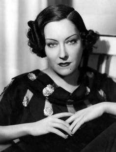 Gloria Swanson.   Ok, so sthis could be thirties, but I still love it!