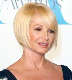 ellen barkin bob with bangs - Google Search