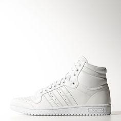 adidas Top Ten Hi Shoes - White   adidas UK