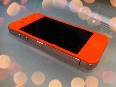 TANGERINE TANGO iPHONE!!!
