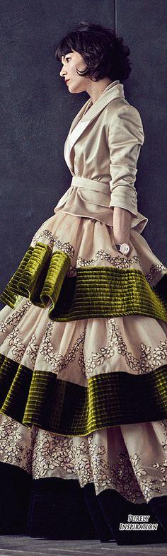 Alexis Mabille FW 2015 Haute Couture (Olivia Merilhati model) | Purely Inspiration