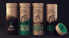"Blending elements from real cacao, Sweety Branding Studio created packaging  and branding for Tilín – a chocolate brand from Colombia.      ""The focus of the rebranding is to build a company and product line     around Colombian chocolate, specifically dark-chocolate covered cacao     nibs and nibs clusters. Nibs originate in the cacao pods of the     different low-lying regions in Colombia, where cacao trees are     cultivated. For this, we created a strong branding with a illustration…"