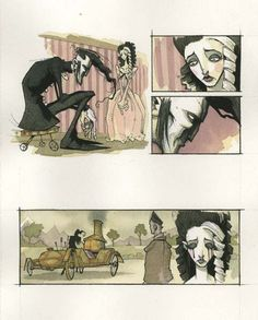 gris grimly | New Illustrations from Gris Grimly's Frankenstein - Dread Central
