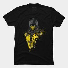 Mortal Kombat: Scorpion t-shirt.