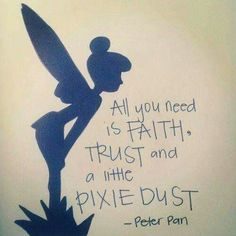 Image Result For Peter Pan Tinkerbell Quotes