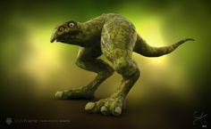 Giant Foot Creature  #CharacterDesign #Creaturedesign #3D