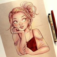 comic, drawing, c.cassandra