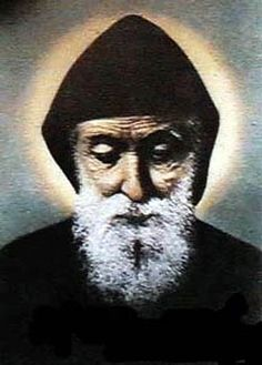 """Today, July 24, we celebrate the feast day of  Saint Charbel Makhlouf  (also known as Sharbel, 1828-1898), """"Hermit of Lebanon,"""" Maronite Cat..."""