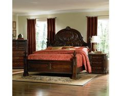 http://www.decorium.us/spanish-bay-traditional-carved-wood-poster-bed.html