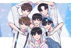 Astro Wallpaper, Scenery Wallpaper, Preety Girls, Cute Korean Boys, Bts Aesthetic Pictures, Kpop Fanart, Anime Scenery, Beautiful Boys, Cute Cartoon