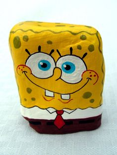 Another SpongeBob Rock by Nevuela.deviantart.com on @DeviantArt