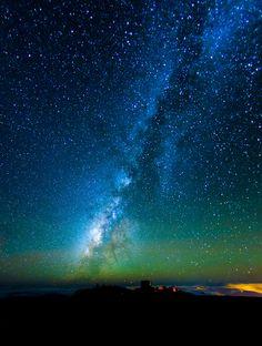 Offering at Haleakala (by Jeff Stamer (Firefallphotography.com))  Haleakala National Park Observatory, Hawaii