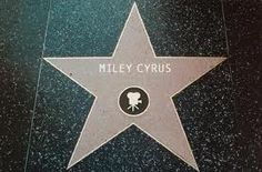 ~Miley Cyrus~ Hollywood walk of Fame