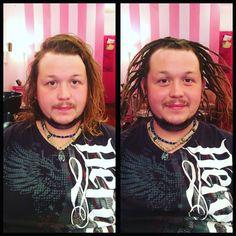 Rebel Rebel Organic Hair and Dreadlock Salon   Dreadlocks, natural crochet dreadlocks, dreadlock salon philadelphia, men with dreadlocks, short hair dreadlocks, dreadlock installation