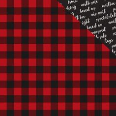Carta Bella Christmas Delivery Paper Cozy Plaid