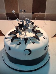 A special young lady's 18th birthday cake, as requested :)