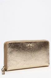 kate spade new york 'harrison street - metallic lacey' wallet