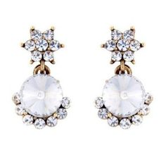 Chic studs, dainty drop to bold chandelier earrings, Glitzy Secrets' collection features vintage & modern designs to take you from day to evening in style. Chandelier Earrings, Gold Earrings, Drop Earrings, Costume Jewelry, Bracelet Watch, Studs, Brooch, Bracelets, Wedding Stuff