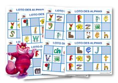 Le loto des Alphas - Le CP de Chat-noir Alphabet Writing, Learning Letters, Kids Learning, Education World, Science Education, French Education, Outdoor Education, Environmental Education, How Train Your Dragon