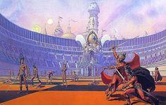 John Carter Of Mars Art | Chessmen of Mars by Whelan