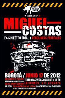 COSTAS: EN BOGOTÁ EL 17 DE JUNIO!!!