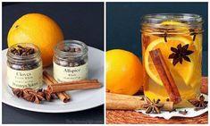 Skip the air freshener & DIY natural room scents using Oranges, cinnamon & cloves!