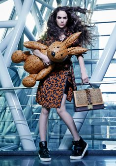 Lenox Tillman, America's Next Top Model S21E12: MCM Bags Photoshoot.