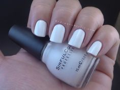 Sinful Colors - Snow me White nail polish