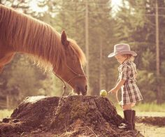 Baby Cowgirl!