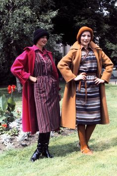 Long wool coats make yet another appearance, as these original hipsters show us how the beanie is done.