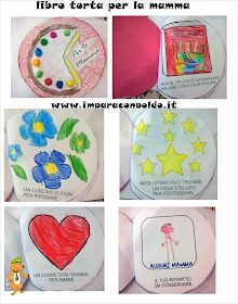 A Scuola con Poldo: Un libro-torta per la mamma